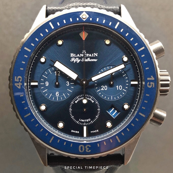 Blancpain Fifty Fathoms Bathyscaphe Flyback Limited Edition 250pcs 5200-0240-52A
