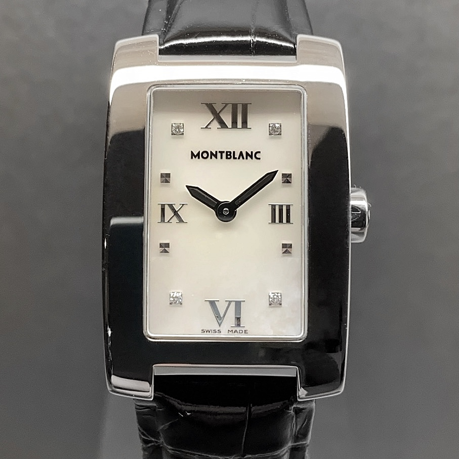 Montblanc Profile Lady Mother of Pearl & Diamonds